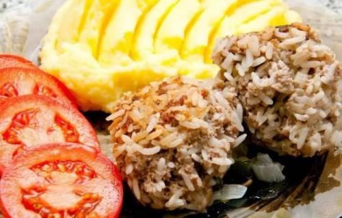 Как сделать ёжики с рисом
