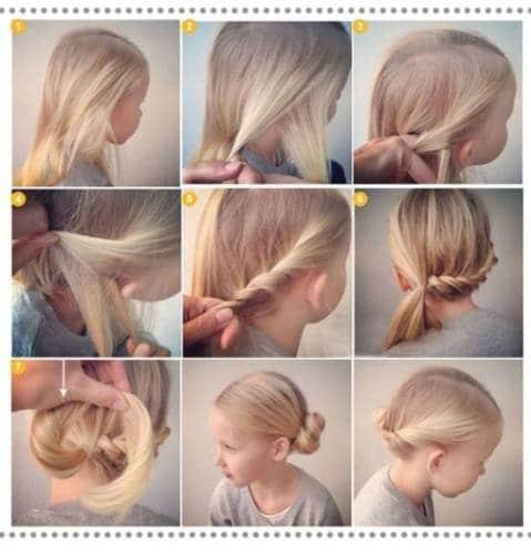 Как делать прически девочкам на длинные волосы. Детские прически для девочек на длинные волосы: креативные и простые варианты (ф