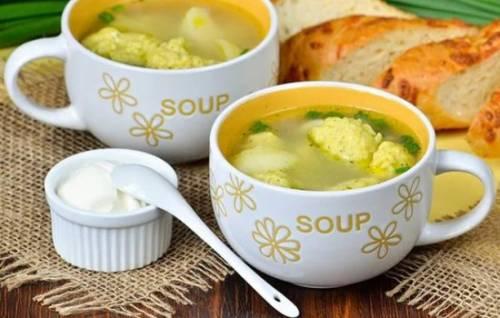 Рецепт суп грибной с галушками рецепт пошаговый