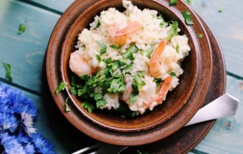 Рецепт різотто з морепродуктами